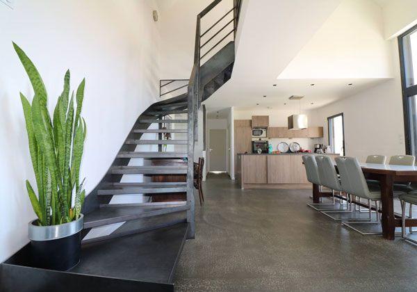 Intérieur escalier